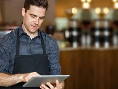 Mobile work is enabled for waiters