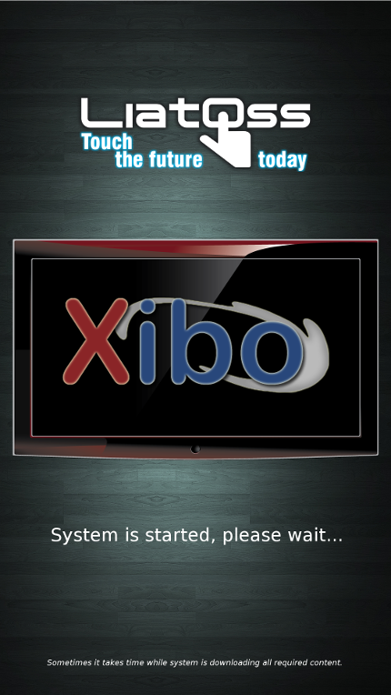 Xibo Splash Screen
